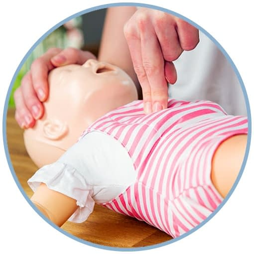 Infant + Child CPR/AED